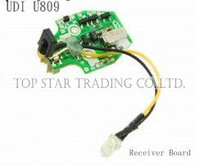 UDI U809 RC helicopter spare parts receiver circuit board