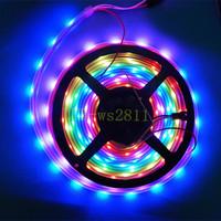 20M Waterproof 5050 SMD RGB WS2812B WS2811 IC 30 Pixel/m LED Strip Waterproof 5V