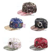 Chic Men Women Unisex Hip-hop Hat Baseball Cap Individualized Pattern Sun hat