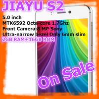 "In stock JIAYU S2 MTK6592 Octa Core 3G Smart Phone13MP Camera 5.0"" IPS Gorilla Glass Screen 2G RAM 16G ROM Free Ship"