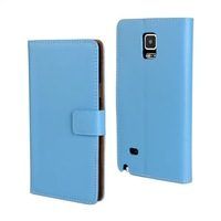 2 pcs/lot Phone cover bag for galaxy note 4 screen protector+phone case leather box for samsung galaxy note 4 from shenzhen