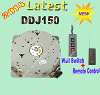 Lastest Chandelier Winch Light Lifting System Lamp Motor DDJ150-6m 110V-240V Wall Switch+Remote Control Free Shipping