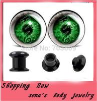 Ear expander wholesales  Free Shipping 160pcs lot 4-16mm Top Quality Screw Logos Ear Tunnels Ear Plugs Body Jewelry Ear Gauge