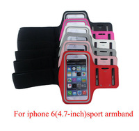 """New Mesh Running Sports Arm Armband Case Cover Holder for iPhone 6 4.7"""" for Samsung Galaxy S3 S4 i9500 i9300 6 colors"""