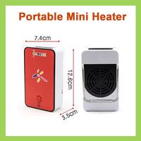 10pcs/lot Mini Portable Warm-Air Electric Heater Fan Keep Home Office Warm Make Hand Warmer in Winter
