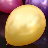 1.5 g bead light round golden balloon birthday party holiday decoration 100pieces/lot 10 inches latex balloons