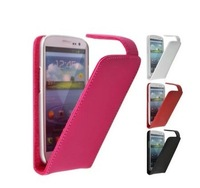 Free Shipping Special Up Down Open Flip Leather Case Cover For Alcatel One Touch POP S3 5050Y  Phone
