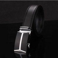 2014 Korean version of the new high-end men's Genuine leather belt automatic belt buckle fashion alloy plating