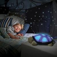 HWP Child Gift Projection Starry sky Music Plush Tortoise Toys Novelty Toys Light-Up Toys Electronic Toys