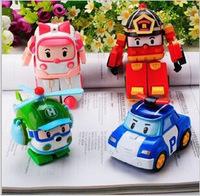 Robocar poli deformation car bubble South Korea Thomas toys mix poli robocar  Minifigure Gift For Kids
