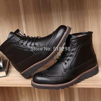Big sizes Genuine leather Fashion men sneakers,handmade autumn winter brand men shoes