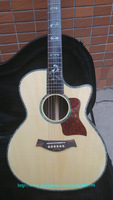 New 916 Acoustic Guitar Top Solid spruce Abalone Binding Acoustic Guitar In Stock
