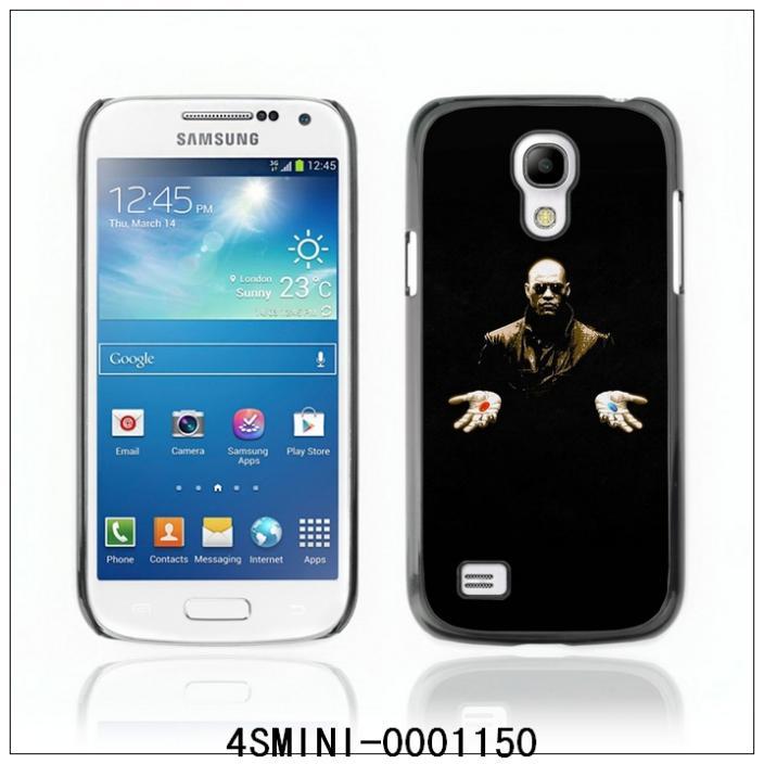 Morpheus Matrix Red Or Blue-FOR SAMSUNG Galaxy S4 mini i9190 Plastic Hard Back Case Cover Shell (4SMINI-0001150)(China (Mainland))