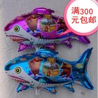 Free shipping \ aluminum mold shark bears balloons \ inflatable toys