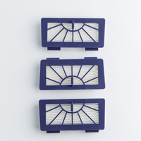 4 Pieces Neato XV-21 Vacuum Cleaner Filter Neato Robotic Pet & Allergy Filter - Replacement For Neato 945-0048 Filter