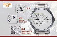 2014 hub New design winner original  EYKI men full steel brand watch good quality business casual sport watch lot male clock