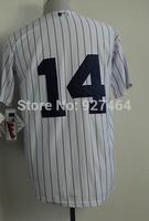 cheap stitched 2014 New York 14 Curtis Granderson men's baseball jersey/baseball shirt