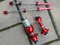 Cycling Road bike hubs A271SB F372SB red hub fit Shiman 8s 9s 10s 11S