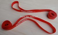 Red Rim Tape For Cyclocross Road Bike Clincher Wheel 700C Rim - 2 pcs flyxii  Rim Tape
