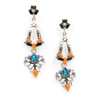 2014 New Arrival  fashion women statement stud Earrings for women girl earring Factory Price wholesale