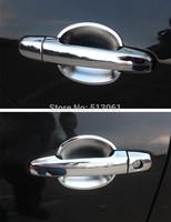 Excellent Chrome 4 pcs Door Handle Cover + 4 pcs door bowl car sticker for Chery Tiggo, Protect car door handles and Decoration