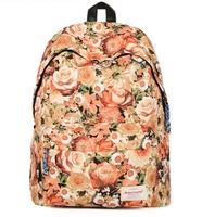 """Fresh style Flower pattern printing backpack Nylon women backpack school bags 15"""" laptop bag mochila feminina 42*32cm"""