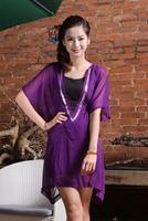Free shipping Summer wear womens chiffon coat colorful coat China manufaucturer woman brand coat