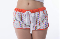 Free shipping Fashionable outdoor sports printed cotton shorts/hot pants/casual pants