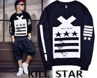 2014 FREE SHIPPING GOOD QUALITY  Killer Star  Unisex Plus Size Cotton New Arrival  Hoodies Sweatshirts,M-XL