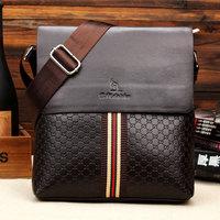 Bolsas Hot Sale Cover Pu Handbags Bolsa 2014 New Winter Kangaroo Man Bag Men Shoulder Messenger Briefcase