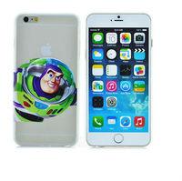 Ultra-thin light slim Creative Alien pattern cartoon movie cover fashion logo phone case For iphone 6 plus PT1436