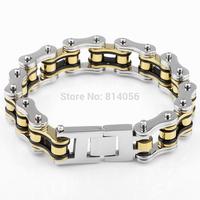 Titanium steel bicycle chain bracelet titanium steel bracelet handsome bicycle chain domineering fashion birthday gift