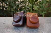 2014 New Arrival PU Leather Camera Bag Case Bolsa de la camara For Leica D5 D4 Free Shipping