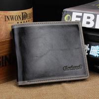 Men's business wallet a short paragraph upscale multi-card bit thicker wallet