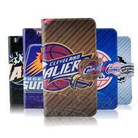 NBA Thunder basketball Jordon Lakers Heat leather flip mobile phone cover case for Huawei G616