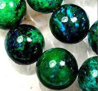 "8mm Azurite Chrysocolla Semi-precious stonestones Round Loose Beads 15"""