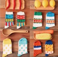 Cute Cotton Jacquard lovers Socks  New 2014 Promotion HIGH QUALITY  Creative hosiery