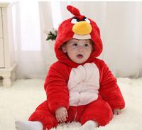 bird Children Pajamas Newborn Carters Brand Baby Rompers Animal Infant Cotton Long Sleeve Jumpsuits Boys Girls winter  Wear