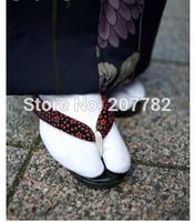 Unisex Tabi Socks Split Toe Japanese Kimono Geta Clog Flip Flop Cotton