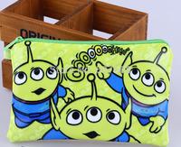 10pcs/lot Alien new arrive Pencil Case Box Cosmetic Bag Alien Pouch-large plush pencil box hot 19*13cm