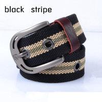 Mens Canvas Hip Belt Cintos Male Casual Belt Buckle Waist Strap Men Belts PK457