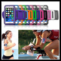2014 New Sports Gym Running Sport Workout Arm Band Armband Case Bag Jogging for iPhone 6 6G 4.7  100pcs/lot