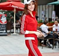 Original design classic women tracksuit brand comfortable material,slim fashion long sleeves sport suit women brand jogging suit