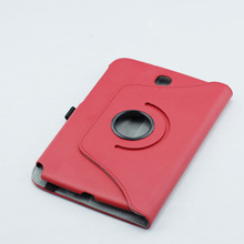 Stand Pouch Wake Sleep Function PU Leather Cover 360 Degree Rotating Case For Samsung Galaxy Note