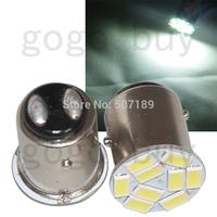 10pcs T25/S25 1157 BAY15D White 9 5730 SMD LED Car Stop Tail Brake Light Bulb New for good price free shipping