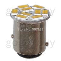 20pcs Warm White 9 LED 5730 Car Auto Tail Rear Brake Light Bulbs Lamp BAY15D 1157  for good price free shipping