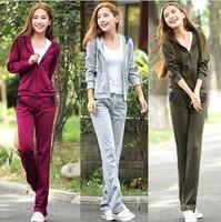 Hot sale brand women clothing set sport suit female tracksuits,track suit female sportswear jogging suits for women confeitaria