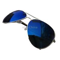 New Fashion Colorful Reflect Light Sunglasses Frog Mirror Sunglasses Men & Women Eyeglasses(Purple)
