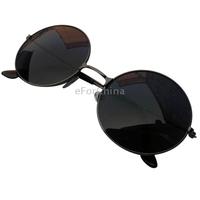 New Fashion Colorful Circular Metal Frame Sunglasses Vintage Eyeglasses Men & Women Sunglasses
