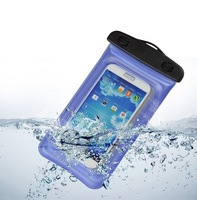 Blue Waterproof Underwater Pouch Case Cover Free shipping